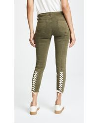 Hudson Jeans - Nico Lace Up Skinny Trousers - Lyst