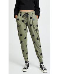 Terez - Foil Printed Jogger Trousers - Lyst