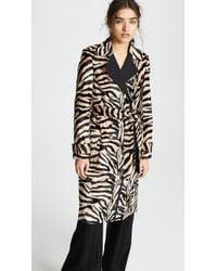 Pallas - Dazibao Zebra Trench Coat - Lyst