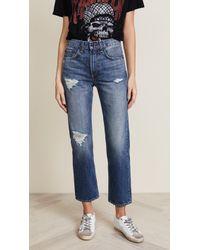 Rag & Bone - Straight Jeans - Lyst