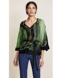 Roberto Cavalli - Chihuly Knitted Blouse - Lyst