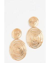 Gas Bijoux - Wave Large Earrings - Lyst