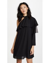 Ella Moon - Pleat Sleeve Dress - Lyst