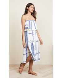 Free People - Wild Romance Embroidered Dress - Lyst