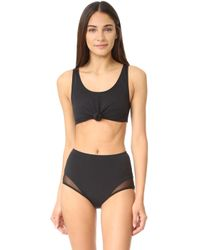 Beth Richards - Knot Top Bikini Top - Lyst