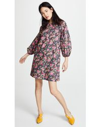 No. 6 - 3/4 Balloon Sleeve Dress - Lyst