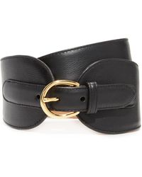 W. Kleinberg - Wide Leather Double Tab Belt - Lyst