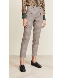 Scotch & Soda - Tailored Check Pants - Lyst