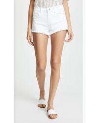 L'Agence - Zoe Perfect Fit Shorts - Lyst