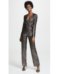Misha Collection - Sharnie Sequined Jumpsuit - Lyst