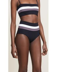 L*Space - Portia Stripe Bottoms - Lyst