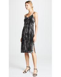 Splendid - Moonstone Velvet Slip Dress - Lyst