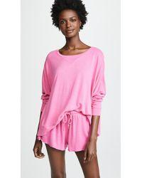 Honeydew Intimates - Starlight French Terry Lounge Sweatshirt - Lyst
