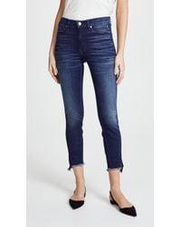 Ayr - The Skinny Split Jeans - Lyst