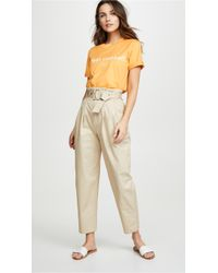 Edition10 - Paperbag Waist Trousers - Lyst