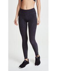Beyond Yoga - Space Dye Performance Leggings - Lyst