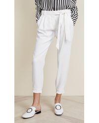 78d6d265cebe Lyst - Women s Parker Cropped pants On Sale