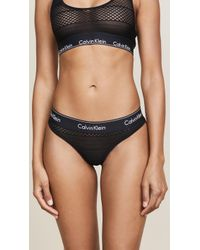 CALVIN KLEIN 205W39NYC - Lace Thong - Lyst