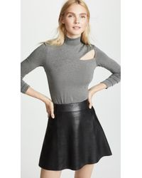 Bailey 44 - Audrey Cutout Turtleneck Top - Lyst