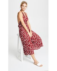 Moon River - Floral Jumpsuit - Lyst