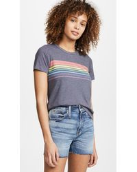 b9f3fa139 Sol Angeles Globetrotter Graphic Tee in Gray - Lyst