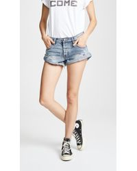 One Teaspoon - Bandits Denim Shorts - Lyst