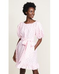 Lisa Marie Fernandez - Mini Linen Prairie Dress - Lyst