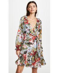 Ella Moon - Wrap Ruffle Dress - Lyst