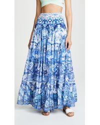 Camilla - Sheer Tiered Maxi Skirt / Dress - Lyst