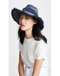 Eugenia Kim - Jordana Denim Hat - Lyst
