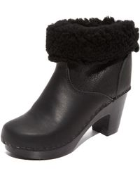 No. 6 - Pull On Shearling Booties - Lyst