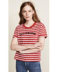 Madewell - Leanna Ciao For Now Bumblebee Stripe Tee - Lyst