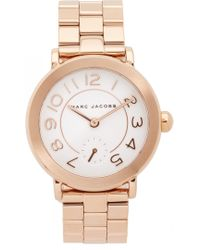 Marc Jacobs - New Classic Watch - Lyst