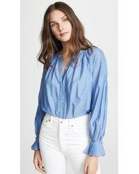 Joie - Mineko Button Down Shirt - Lyst
