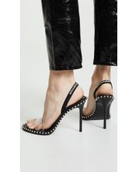 1e8b387cebb Alexander Wang - Women s Nova Slingback High-heel Sandals - Lyst