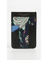 Tory Burch - Floral Card Pocket Case - Lyst
