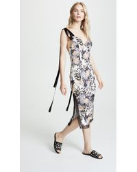 Goen.J - Floral Sleeveless Dress - Lyst