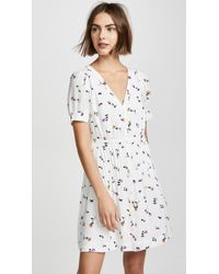 Madewell - Daylily Pintuck Dress - Lyst