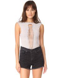 Nightcap - Weave Bodysuit - Lyst