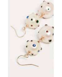 Lulu Frost - Boboli Double Drop Earrings - Lyst