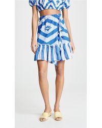 lemlem - Biruhi Wrap Skirt - Lyst