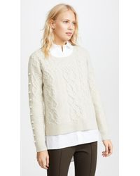 Madewell - Bobble Pullover Jumper - Lyst