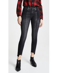 Hudson Jeans - Nico Two Tone Skinny Ankle Jeans - Lyst