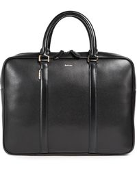 Paul Smith - City Emboss Portfolio Briefcase - Lyst
