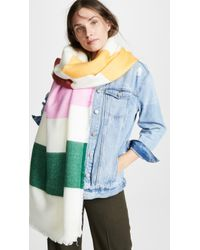 Madewell - Rectangle Stripe Scarf - Lyst