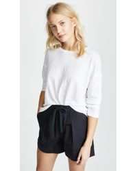 Vince - Relaxed Ls Crew Tee - Lyst