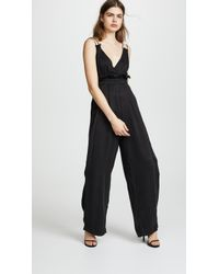 Kendall + Kylie - Ruched Jumpsuit - Lyst