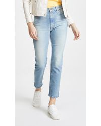 Mother - The Dazzler Ankle Jeans - Lyst