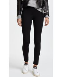James Perse - Cropped Scuba Trousers - Lyst