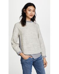 La Vie Rebecca Taylor - French Terry Pullover - Lyst